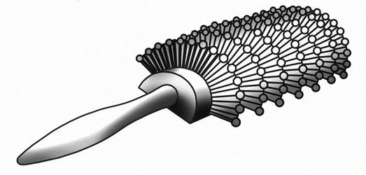 Щетки для мелирования волос