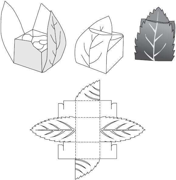 Коробочка-«листики»