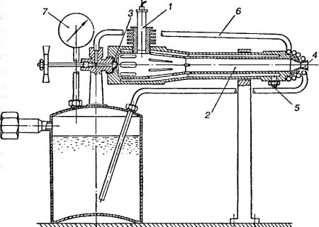 Схема двигателя «ОР-1»,