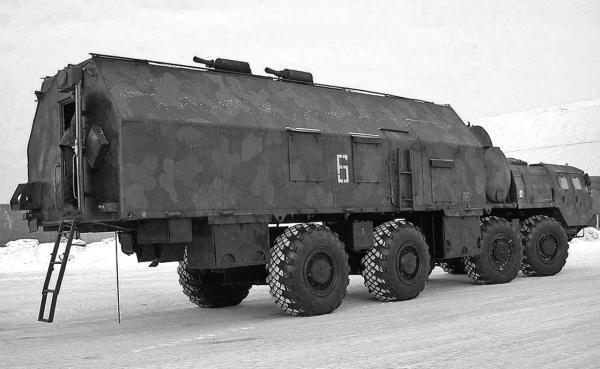 РВСН на шасси МАЗ-543А