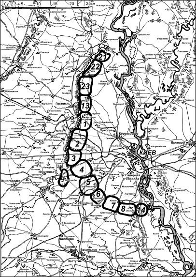 укрепленного района Схема