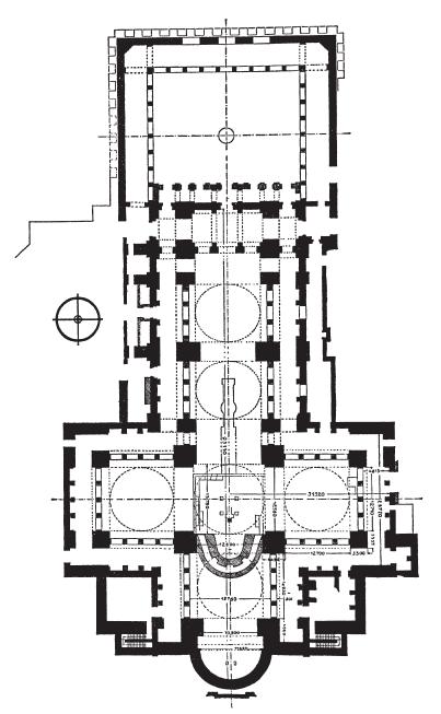 План церкви Святого Иоанна. VI