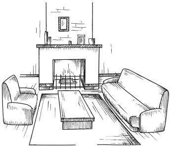 Глава 2 Гостиная / Новая прихожая, гостиная, спальня. Лучшие ...