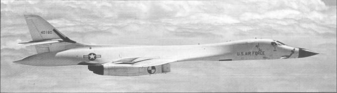 Rockwell B-1A Lancer. СШАUSA. Третий опытный самолет B-1A (серийный номер 74-