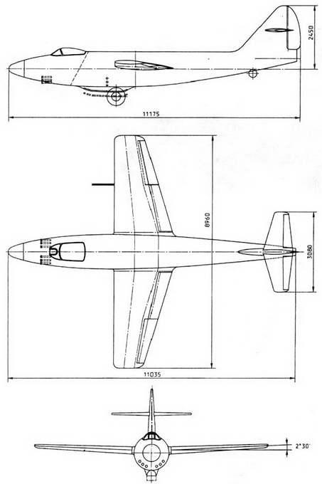 Самолет «162» 2-й вариант