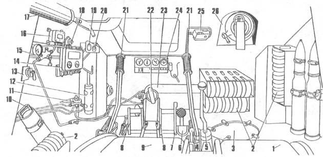 На Т-34-85 радиостанция