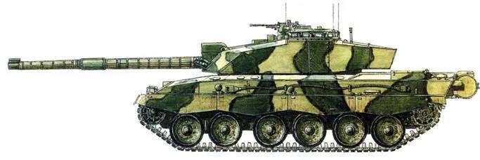 танк «Челленджер-2».