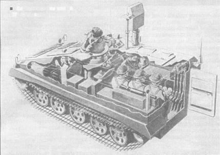 Компоновочная схема БТР «