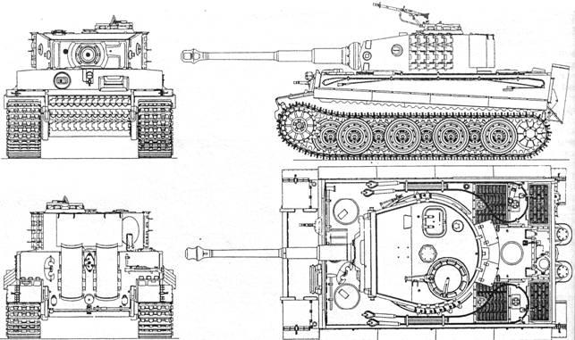Тяжелый танк Pz Kpfw VI «