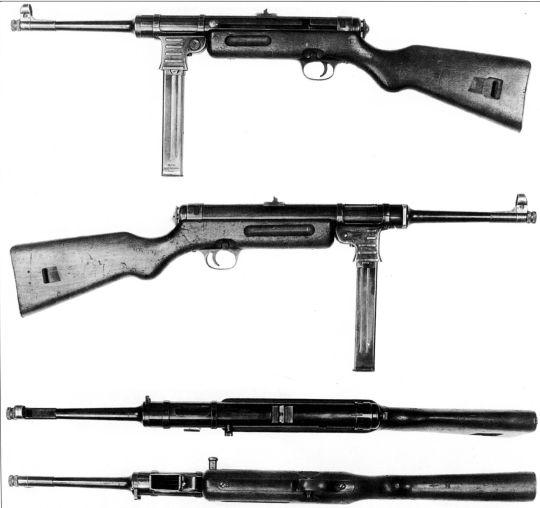 МР-40 / Пистолет-пулемет MP 38/40. ОРУЖИЕ ГЕРМАНСКОЙ ПЕХОТЫ