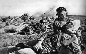 фото раненых солдат