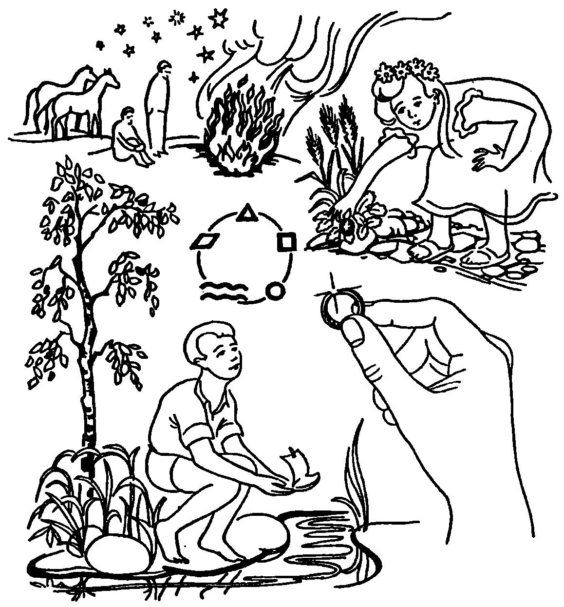 сердечное дерево оберег схема